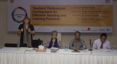Technical Forum Series discusses key issues in TPD for effective teaching and learning practices